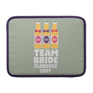 Bolsa De MacBook Noiva Florença da equipe 2017 Zhy7k