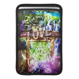 Bolsa De MacBook O caminho do universo do arco-íris a esses que