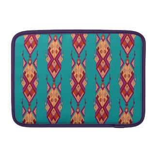 Bolsa De MacBook Ornamento asteca tribal étnico do vintage