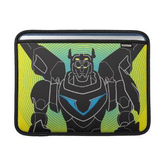 Bolsa De MacBook Silhueta preta de Voltron | Voltron