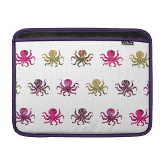 Bolsa De MacBook Teste padrão colorido do polvo