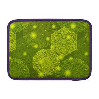 Bolsa De MacBook Teste padrão luxuoso floral da mandala