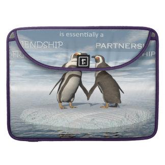 Bolsa MacBook Pro A amizade é essentailly uma parceria