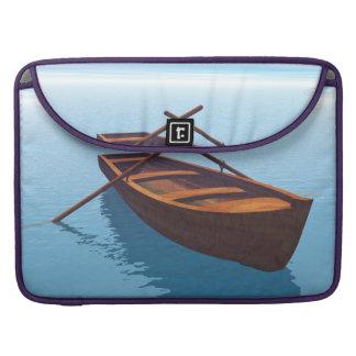 Bolsa MacBook Pro Barco de madeira - 3D rendem