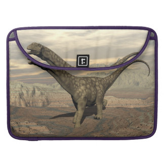Bolsa MacBook Pro Caminhada do dinossauro do Argentinosaurus - 3D