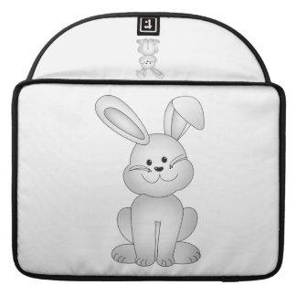 Bolsa MacBook Pro Clipart branco do coelho