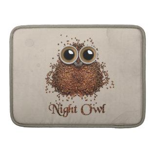 Bolsa MacBook Pro Coruja de noite