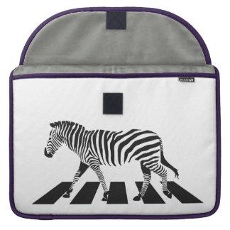 Bolsa MacBook Pro Cruzamento de zebra