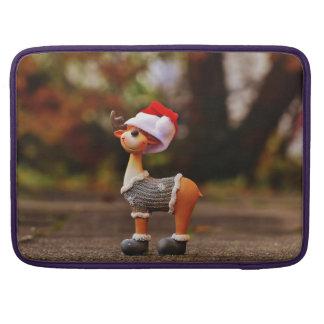 Bolsa MacBook Pro Decorações da rena - rena do Natal
