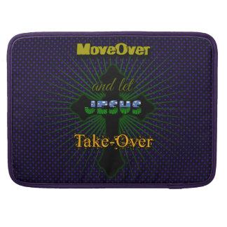 Bolsa MacBook Pro Deixe Jesus tomar sobre