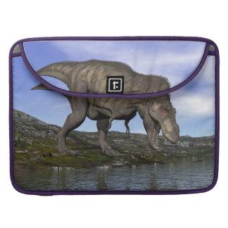 Bolsa MacBook Pro Dinossauro do rex do tiranossauro - 3D rendem