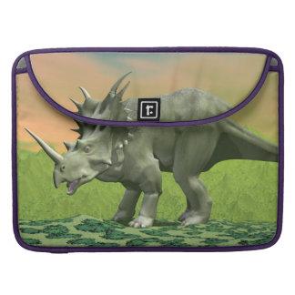 Bolsa MacBook Pro Dinossauro do Styracosaurus - 3D rendem