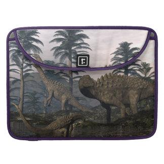 Bolsa MacBook Pro Dinossauros do Ampelosaurus