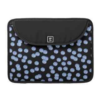 """Bolsa MacBook Pro Luva 13"""" de Macbook das bolinhas azuis pro"""