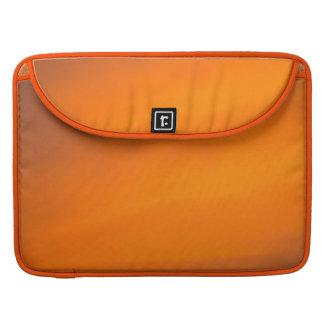 Bolsa MacBook Pro Luva alaranjada de Macbook da arte abstracta do
