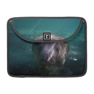 Bolsa MacBook Pro Luva bonito de Macbook do peixe-boi do bebê