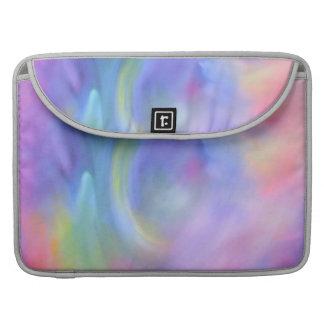 Bolsa MacBook Pro Luva Pastel de Macbook da arte abstracta do