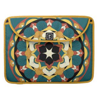 Bolsa MacBook Pro Mandala floral colorida 060517_4