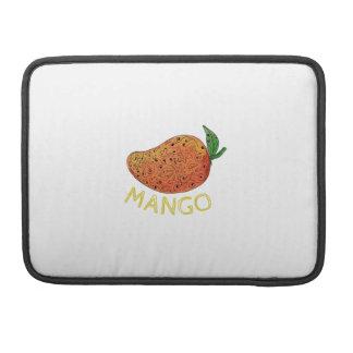 Bolsa MacBook Pro Mandala suculenta da fruta da manga