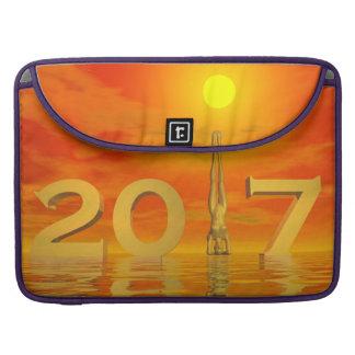 Bolsa MacBook Pro O feliz ano novo 2017 do zen - 3D rendem