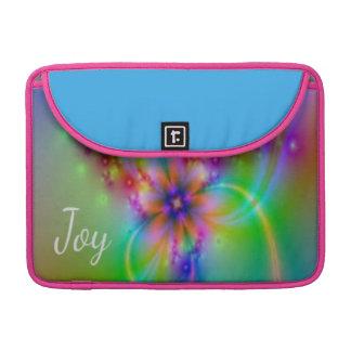 Bolsa MacBook Pro O olhar da alegria