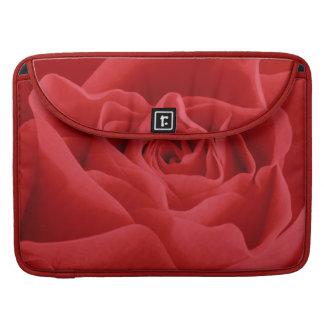 Bolsa MacBook Pro Pétalas de rosa vermelha