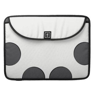 Bolsa MacBook Pro Pontos DarkGrey Checkered