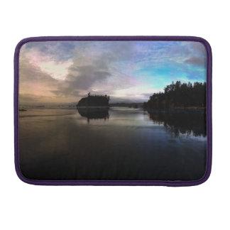 Bolsa MacBook Pro Por do sol | NP olímpico da praia do rubi