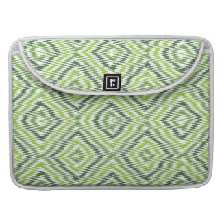Bolsa MacBook Pro Ziguezague verde