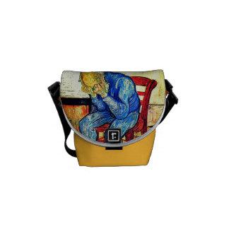 Bolsa Mensageiro Ancião Sorrowing por Van Gogh