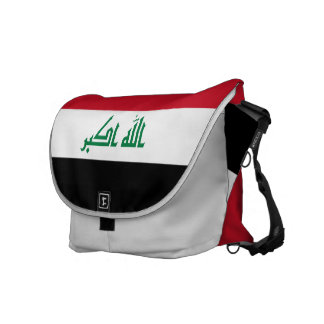 Bolsa Mensageiro Bandeira de Iraque