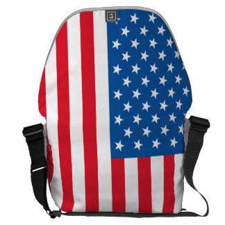 Bolsa Mensageiro Bandeira dos Estados Unidos da bandeira dos EUA