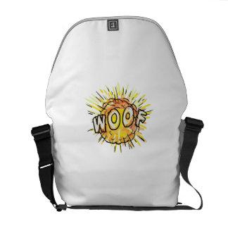 Bolsa Mensageiro Desenhos animados do Woof da explosão