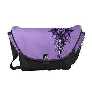 Bolsa Mensageiro Dragão do ornamento