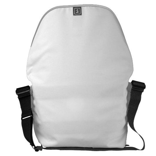Grande Messenger Bag Impressão Fora