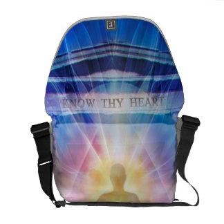 Bolsa Mensageiro H110 sabem Thy noite do templo do coração