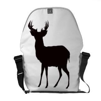 Bolsa Mensageiro imagem dos cervos no saco