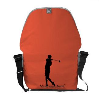 Bolsa Mensageiro Jogador de golfe