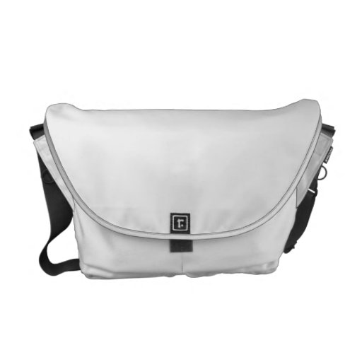 Médio Messenger Bag Impressão Interior