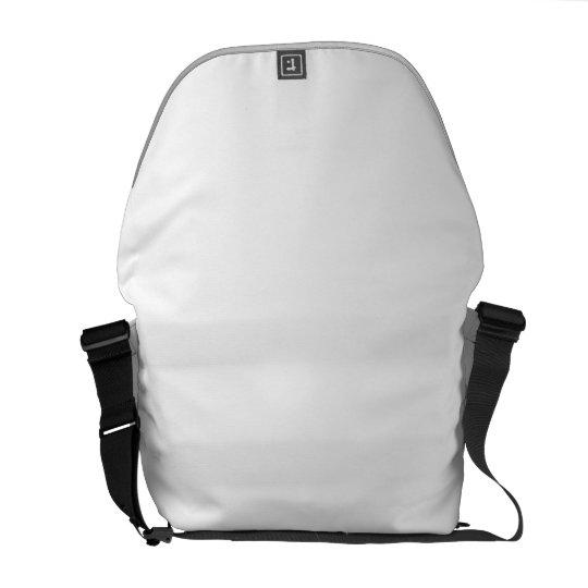 Médio Messenger Bag Impressão Fora