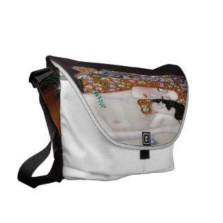 Bolsa Mensageiro Meu Klimt Serie: Mãe & criança