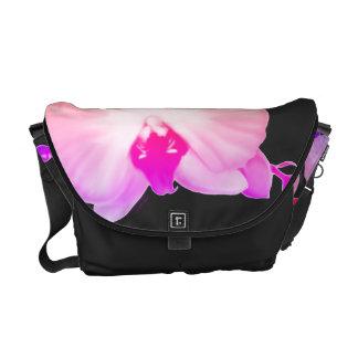Bolsa Mensageiro Orquídeas macias