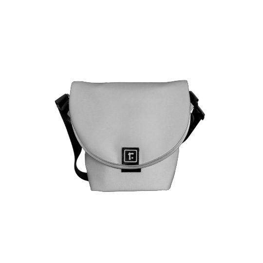 Mini Messenger Bag Impressão Interior