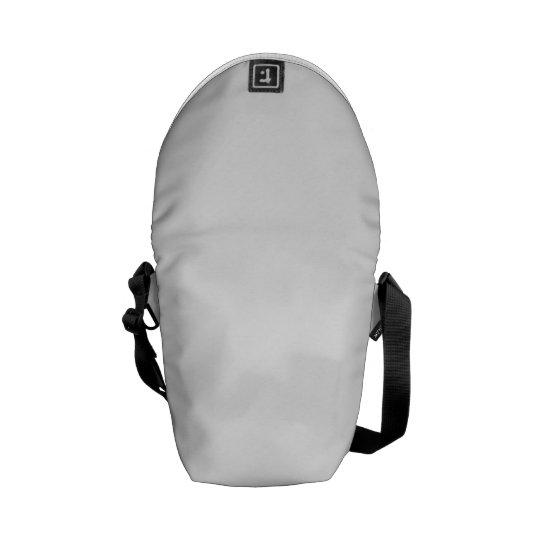 Mini Messenger Bag Impressão Fora