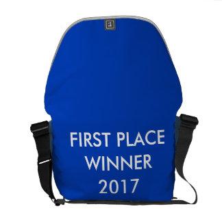 Bolsa Mensageiro Trouxa customizável com o primeiro vencedor do
