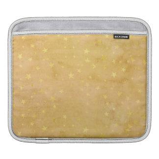 Bolsa Para iPad A folha de ouro na moda Stars a aguarela