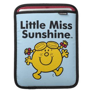 Bolsa Para iPad A senhorita pequena pequena Luz do sol da