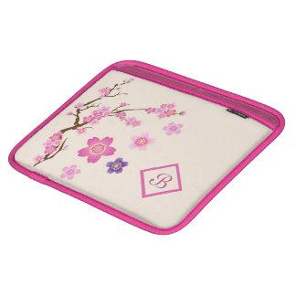 Bolsa Para iPad Arte da flor de cerejeira