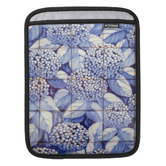 Bolsa Para iPad Azulejos florais