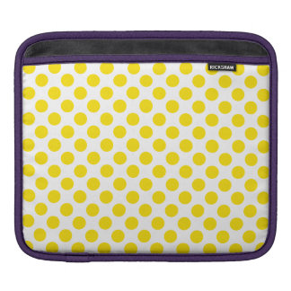 Bolsa Para iPad Bolinhas amarelas